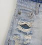 Shorts Jeans Destroyed Forro Paetês Authoria