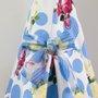 Vestido Baby 1+1 Estampado Poás Azul