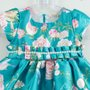 Vestido Bebê Festa Petit Cherie Esmeralda Estampado