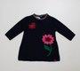 Vestido Linha Jacquard Flores Noruega Baby