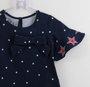 Vestido Marinho Poás e Estrelas Vermelhas 1mais1