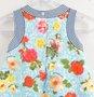 Vestido Neoprene Babadinho Flores 1+1 Baby Style