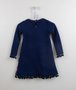 Vestido Petit Cherie Cachorrinhos Azul Marinho