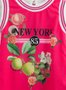 Vestido Seda Pink New York 1+1